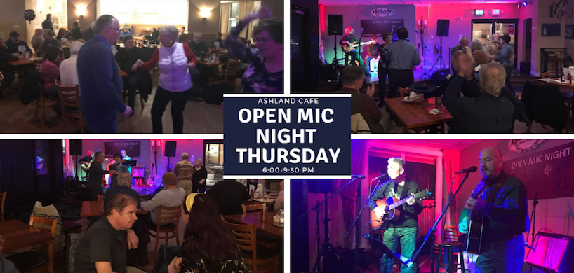 banner image for open mic event